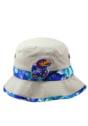 Top of the World KU Jayhawks Mens gray floral band and team logo on the front Flex Hat