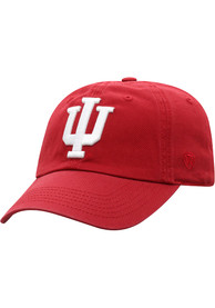 Indiana Hoosiers Top of the World Crew Adjustable Hat - Cardinal