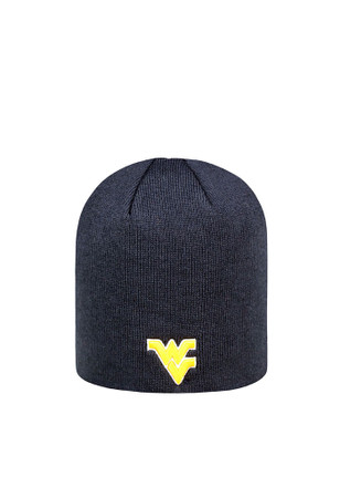 Top of the World West Virginia Mountaineers Navy Blue Beanie Knit Hat