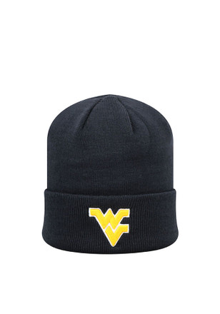 Top of the World West Virginia Mountaineers Navy Blue Cuffed Knit Hat