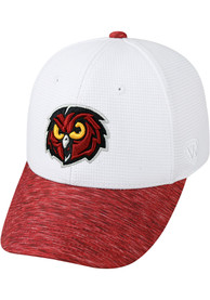 Temple Owls Top of the World Booster Lightspeed Flex Hat - White