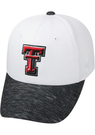 Top of the World Texas Tech Red Raiders Mens White Booster Lightspeed Flex Hat