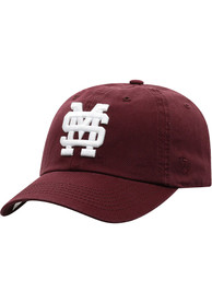 Mississippi State Bulldogs Crew Adjustable Hat - Red