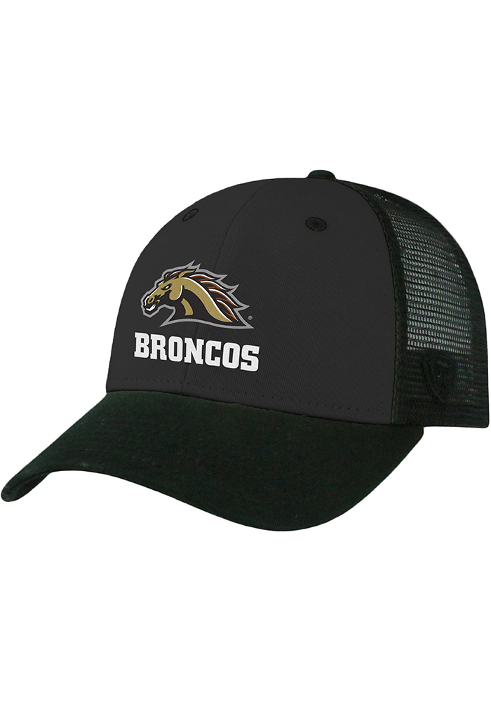Top of the World Western Michigan Broncos Classman Mesh Adjustable Hat - Black - Image 1