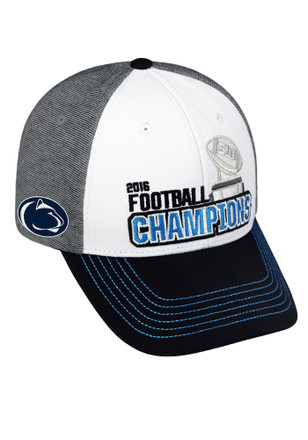 Top of the World Penn State Nittany Lions Mens White 2016 Big 10 Champion Adjustable Hat