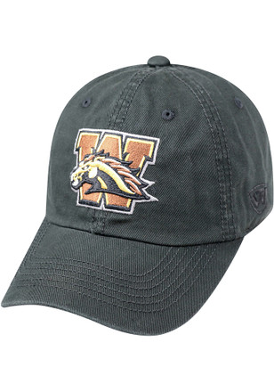 Top of the World Western Michigan Broncos Mens Black Crew Adjustable Hat