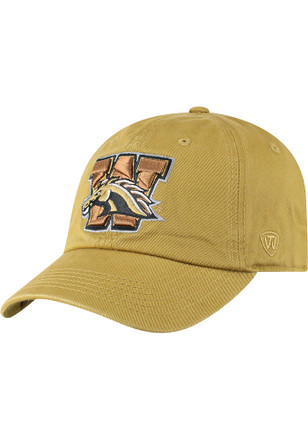 Top of the World Western Michigan Broncos Mens Gold Crew Adjustable Hat