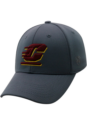Top of the World Central Michigan Chippewas Mens Grey So Clean Adjustable Hat