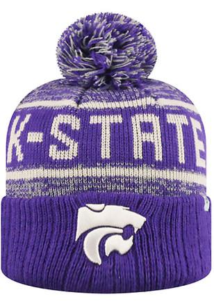 Top of the World K-State Wildcats Purple Acid Rain Youth Knit Hat