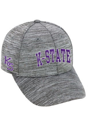 Top of the World K-State Wildcats Mens Grey So Clean Adjustable Hat