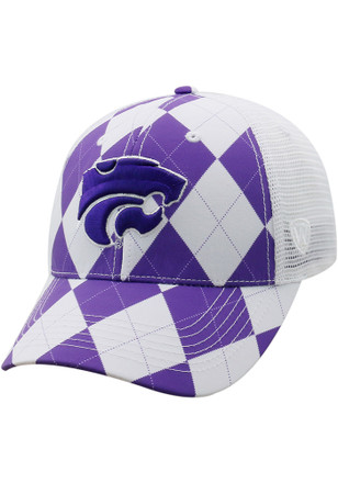 Top of the World K-State Wildcats Mens Purple Get Loud Adjustable Hat