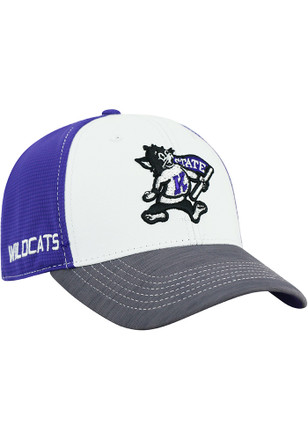 Top of the World K-State Wildcats Mens Purple GRIP Flex Hat