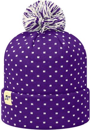 Top of the World K-State Wildcats Womens Purple Firn Knit Hat