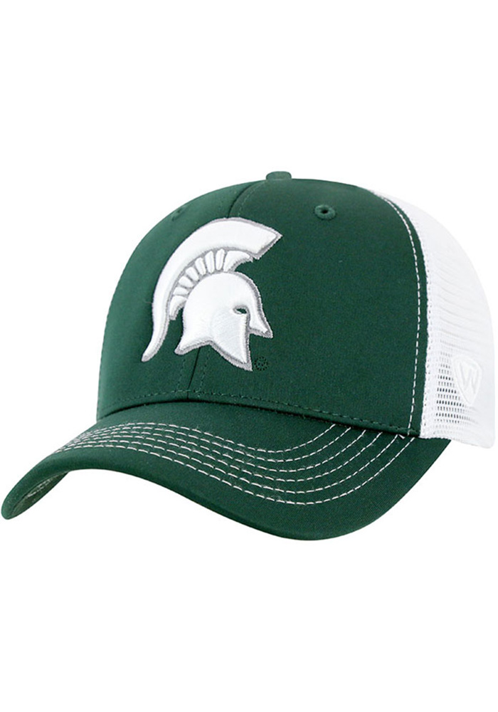 Top of the World Michigan State Spartans Ranger Adjustable Hat - Green - Image 1