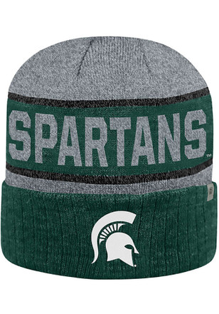 Top of the World Michigan State Spartans Green Below Zero II Knit Hat