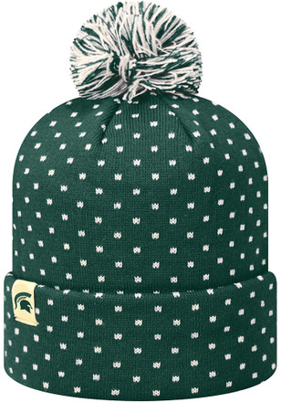 Top of the World Michigan State Spartans Green Firn Knit Hat