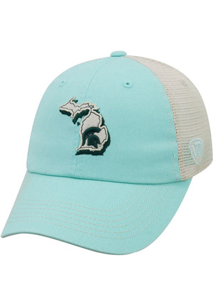 4db93ef3b23 Top of the World Michigan State Spartans Womens Brown Trek Adjustable Hat