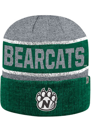 Top of the World Northwest Missouri State Bearcats Mens Green Below Zero II Knit Hat