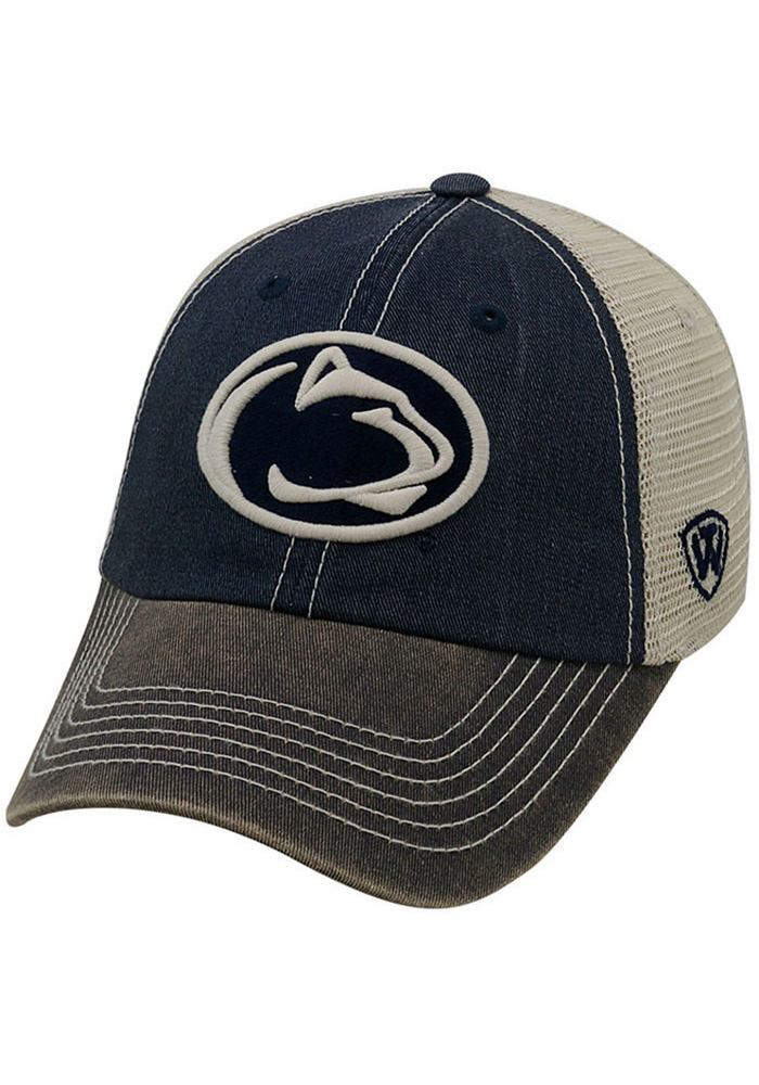Penn State Nittany Lions Top of the World Offroad Adjustable Hat - Navy Blue