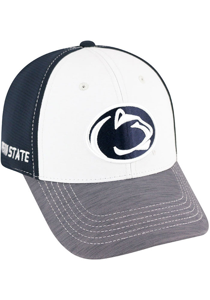 buy online dc2d2 2cf81 ... coupon for top of the world penn state nittany lions mens navy blue  grip flex hat
