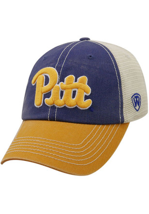 Top of the World Pitt Panthers Mens Blue Offroad Adjustable Hat