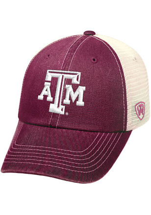 Top of the World Texas A&M Aggies Mens Maroon Ranger Adjustable Hat