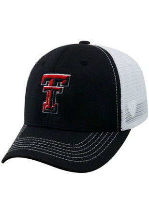 Top of the World Texas Tech Red Raiders Mens Black Ranger Adjustable Hat