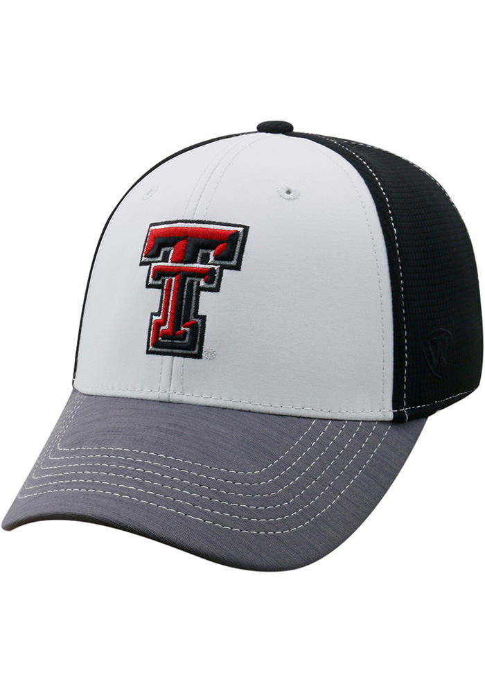quality design 89b81 4051f where can i buy top of the world texas tech red raiders black grip flex hat