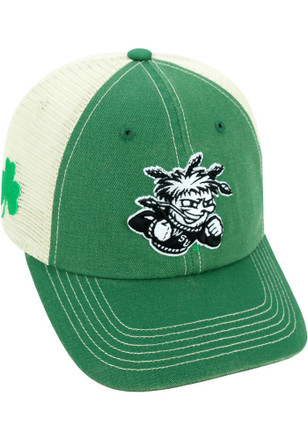 Top of the World Wichita State Shockers Mens Kelly Green St Pats Adjustable Hat