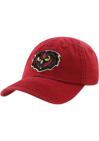 Temple Owls Baby Top of the World Crew Adjustable Hat - Maroon