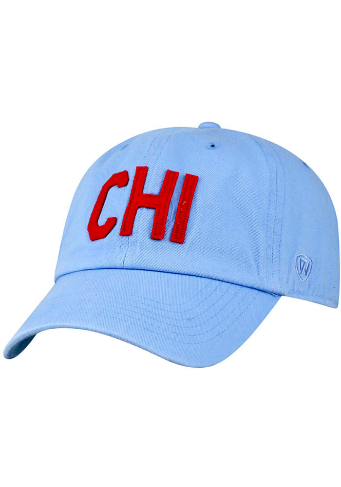 Top of the World Chicago District Adjustable Hat - Light Blue - Image 1