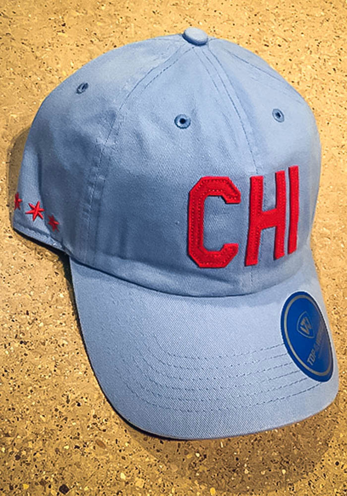 Top of the World Chicago District Adjustable Hat - Light Blue - Image 3