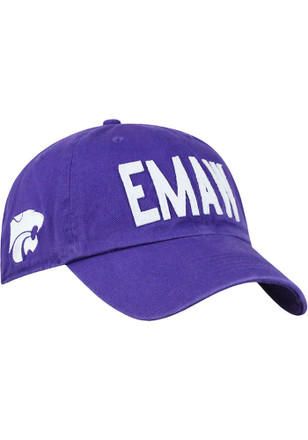 Top of the World K-State Wildcats Mens Purple EMAW District Adjustable Hat