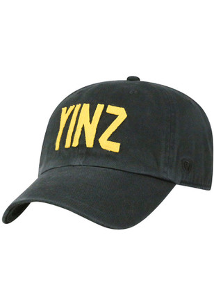 Top of the World Pittsburgh Mens Black Yinz District Adjustable Hat