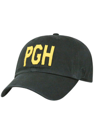 Top of the World Pittsburgh Mens Black PGH District Adjustable Hat
