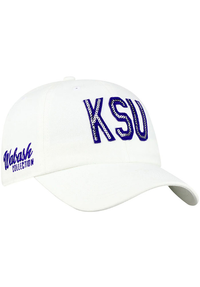 06fd706cc3e Top of the World K-State Wildcats Womens White Glow District Adjustable Hat
