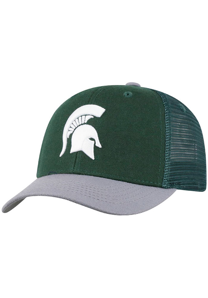Michigan State Spartans Green Series Youth Adjustable Hat - Image 1