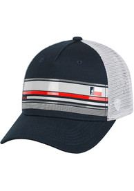 Texas Top of the World Auggie Adjustable Hat - Navy Blue