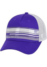 K-State Wildcats Top of the World Auggie Adjustable Hat - Purple