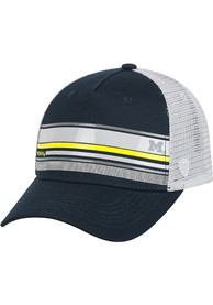 Michigan Wolverines Top of the World Auggie Adjustable Hat - Navy Blue