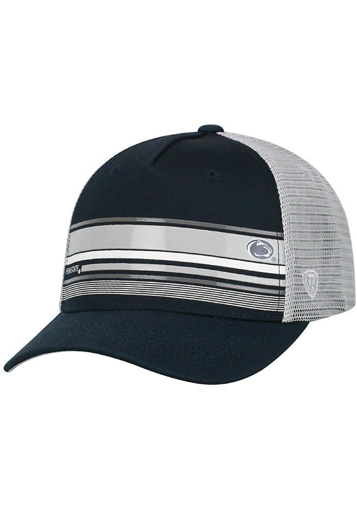 Penn State Nittany Lions Top of the World Auggie Adjustable Hat - Navy Blue