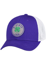 K-State Wildcats Top of the World Charm Adjustable Hat - Purple
