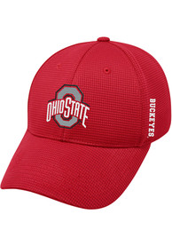 Ohio State Buckeyes Top of the World Booster Plus Flex Hat - Red