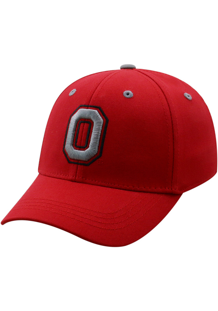 Top of the World Ohio State Buckeyes Red Rookie Youth Flex Hat - Image 1