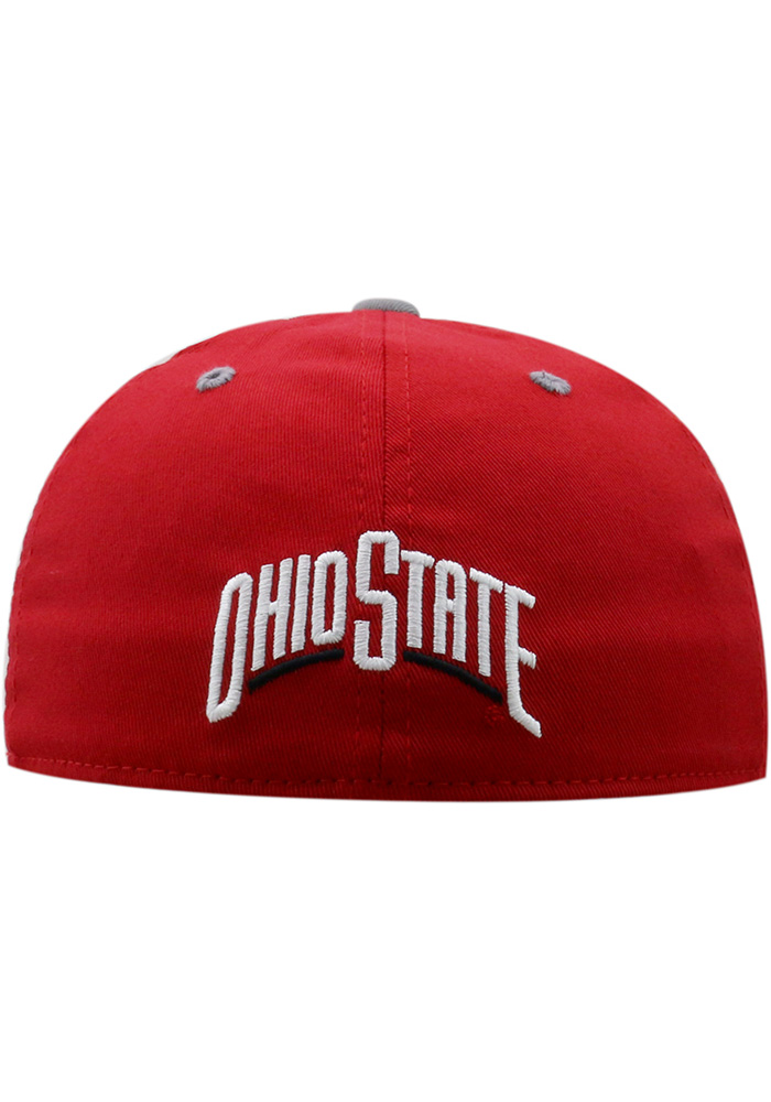 Top of the World Ohio State Buckeyes Red Rookie Youth Flex Hat - Image 2