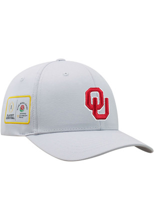 Top of the World Oklahoma Sooners Mens Grey 2017-18 CFP Bound Adjustable Hat