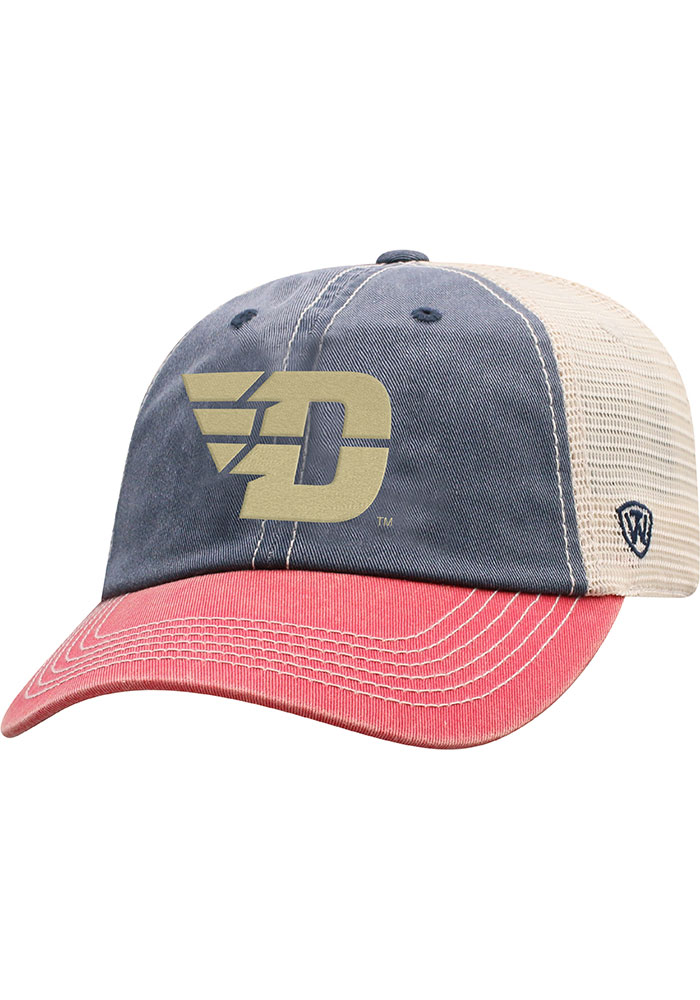 Top of the World Dayton Flyers Offroad Adjustable Hat - Navy Blue - Image 1