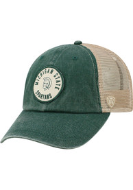 Michigan State Spartans Top of the World Keepsake Meshback Adjustable Hat - Green