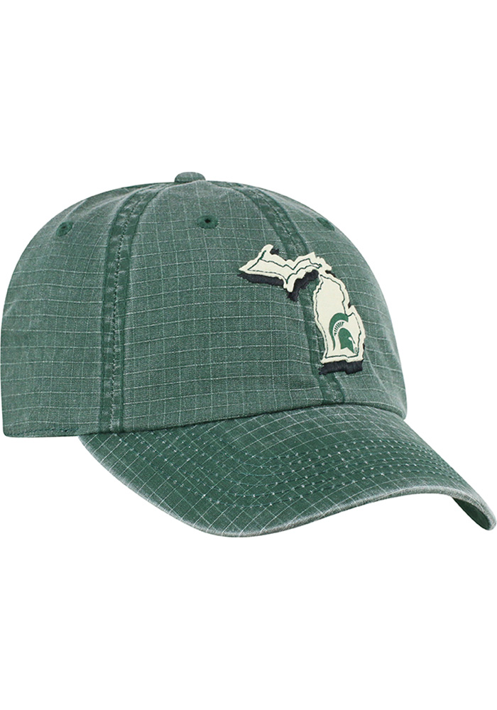 Top of the World Michigan State Spartans Stateline Adjustable Hat - Green - Image 2