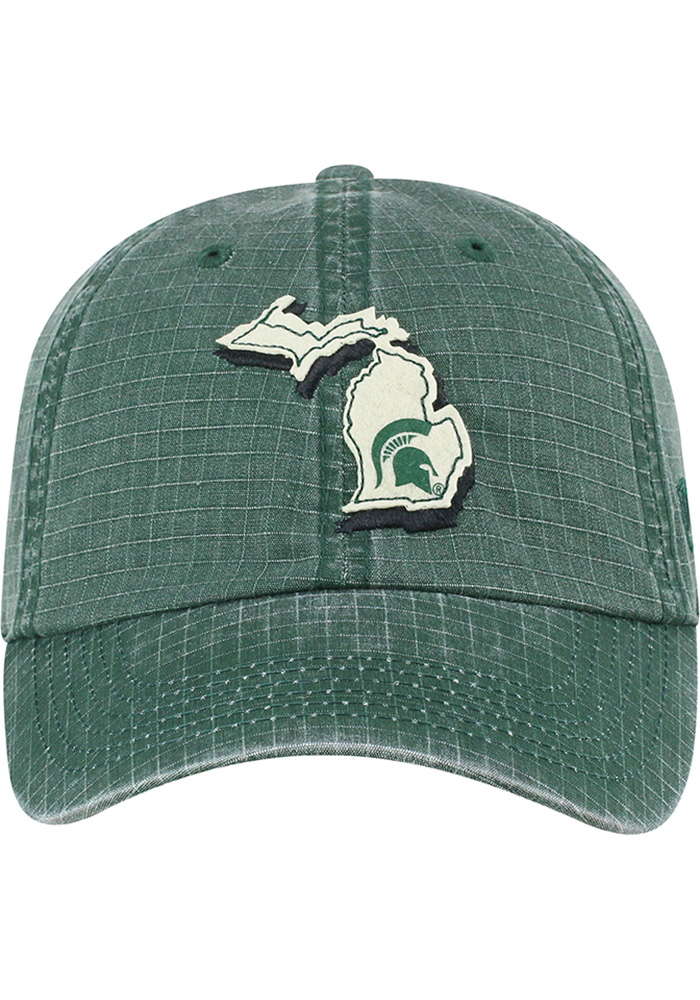 Top of the World Michigan State Spartans Stateline Adjustable Hat - Green - Image 3